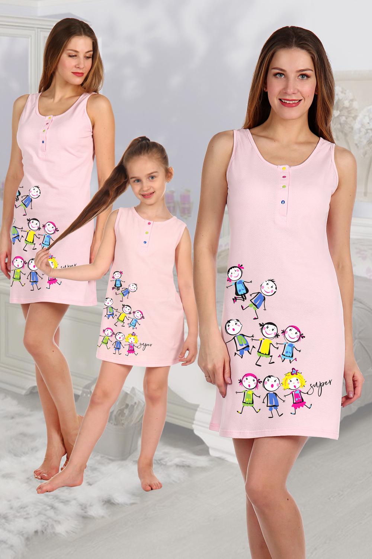 Купить Сорочка женская Розовое лето , Грандсток