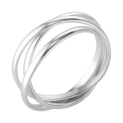 """Кольцо серебряное """"2306676б"""" 18.5"""