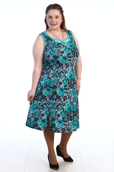 Сарафан женский #Мечтательница#, Размер: 64 - Платья и юбки - Сарафаны