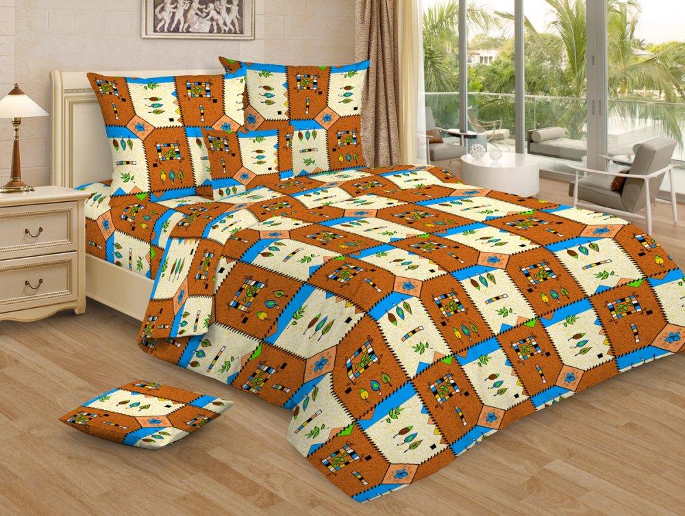 Постельное белье Конвертик коричневый GS (бязь) (1,5 спальный) постельное белье размеры