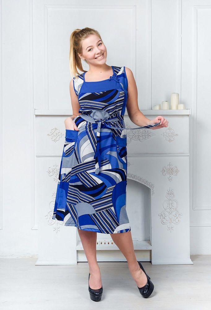 Сарафан женский #Печора#, Размер: 48 - Платья и юбки - Сарафаны