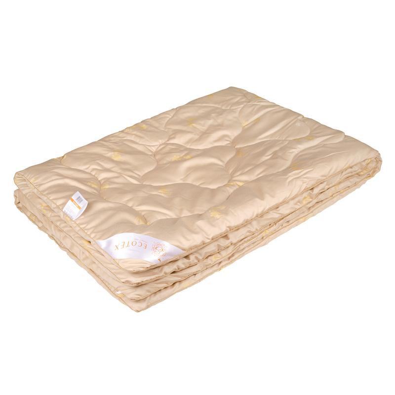 """Одеяло зимнее """"Сафари"""" (верблюжья шерсть, сатин) 2 спальный (172*205)"""