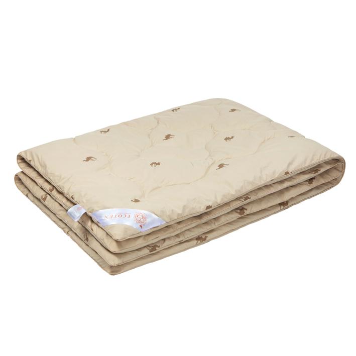 """Одеяло зимнее """"Сафари"""" (верблюжья шерсть, тик) (1,5 спальный (140*205))"""