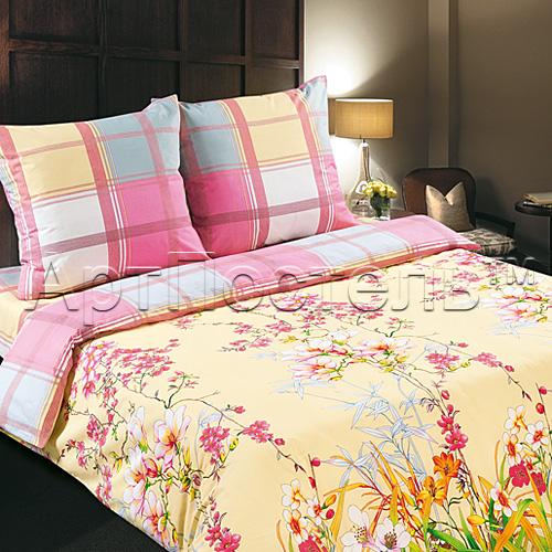 Постельное белье Утренний сад (поплин) (1,5 спальный) постельное белье утренний сад поплин семейный