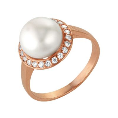 Кольцо серебряное 2336289 женские кольца esprit женское серебряное кольцо с цирконами esrg 91386 a 18 5