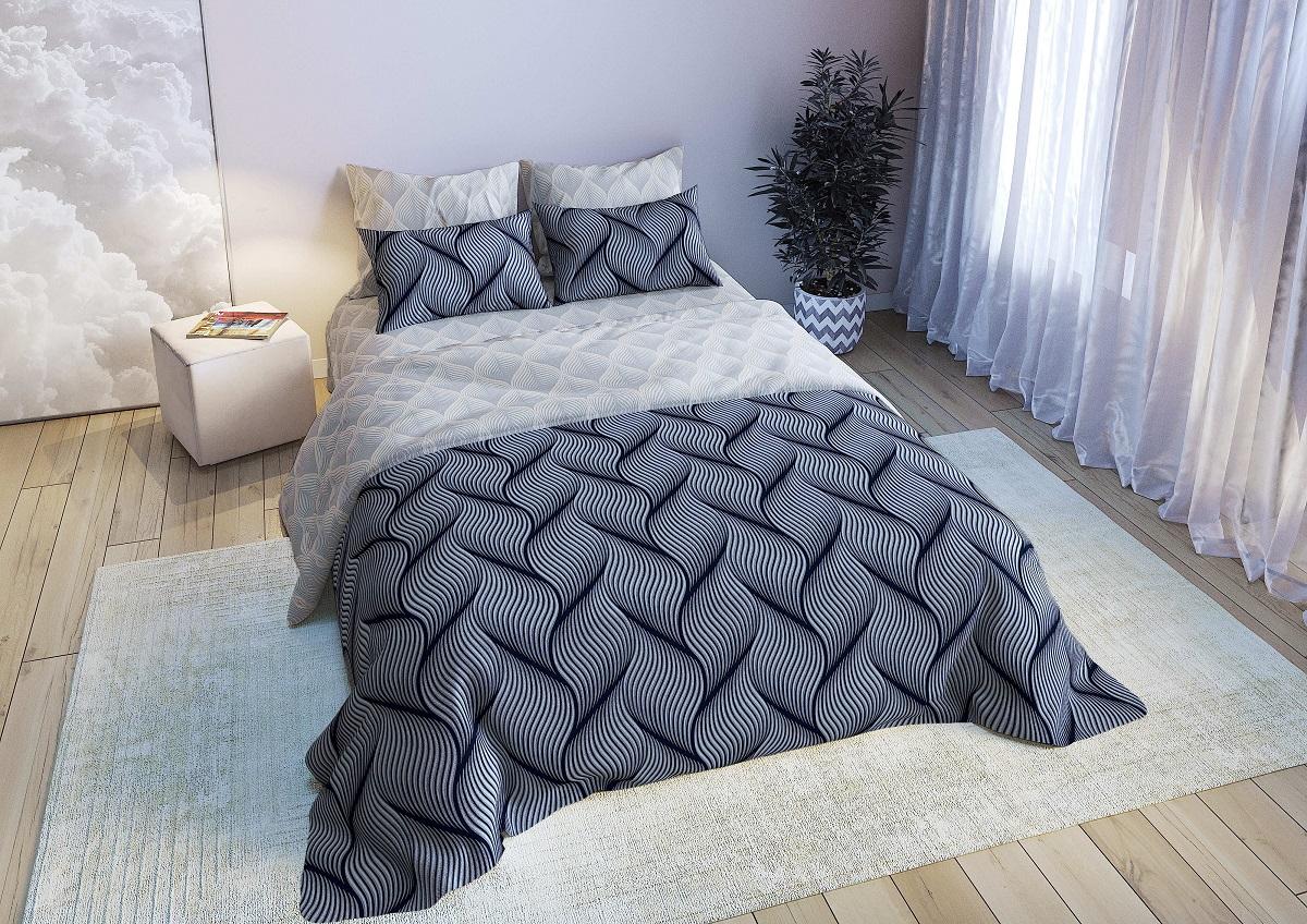 Фото - Постельное белье iv79738 (поплин) (1,5 спальный) постельное белье iv76089 поплин 1 5 спальный