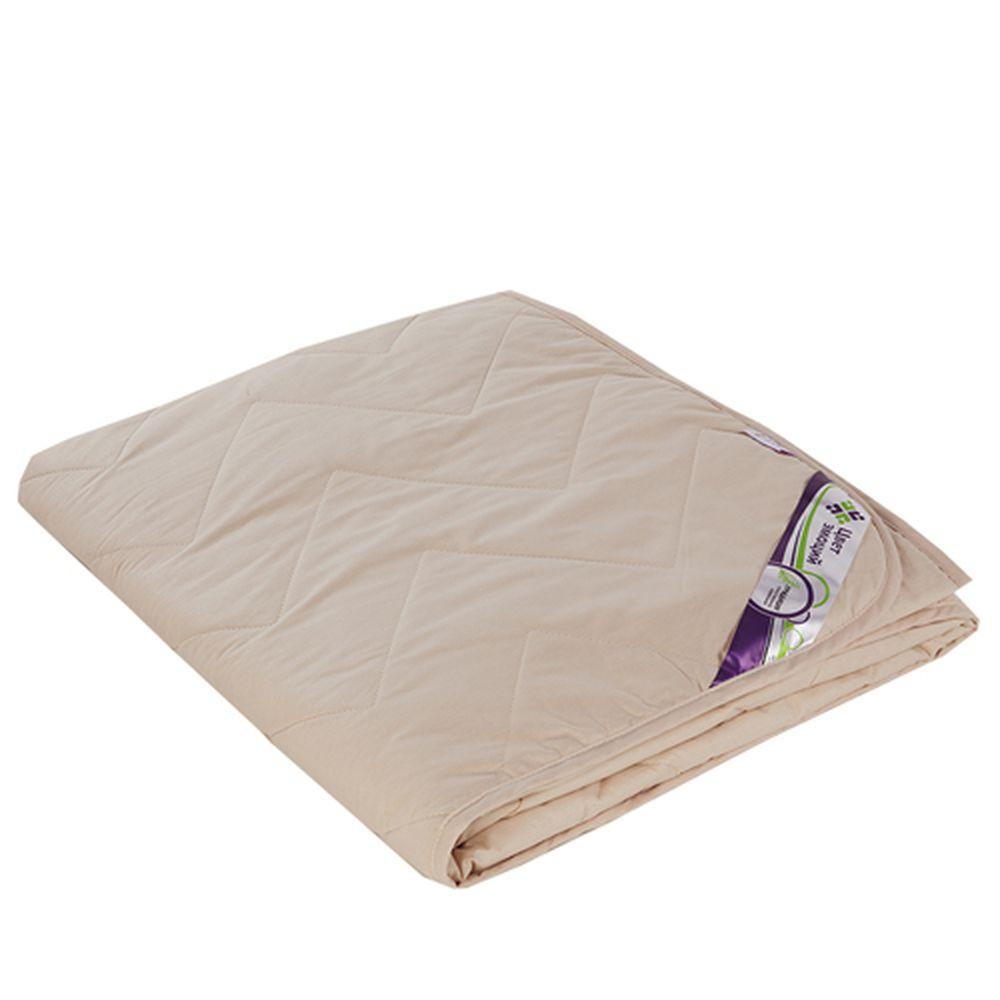 """Одеяло облегченное """"Пушинка"""" (файберсофт, поплин) 1,5 спальный (140*205)"""
