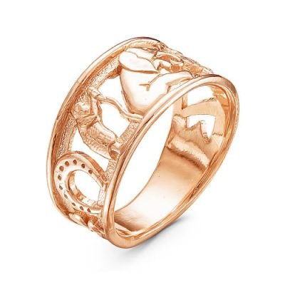 Кольцо серебряное iv8253
