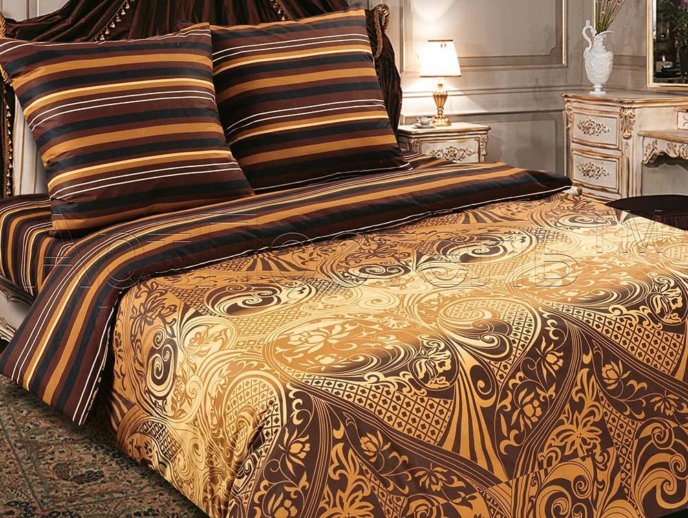 Постельное белье Арабика (поплин) (1,5 спальный) постельное белье дельфины поплин 1 5 спальный