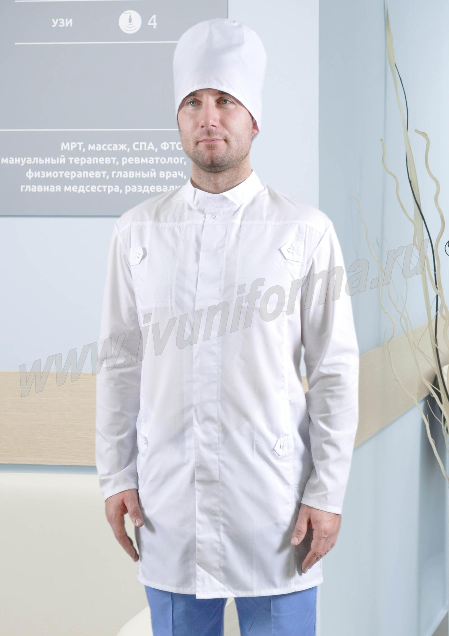 Халат медицинский Стайл халат медицинский классик