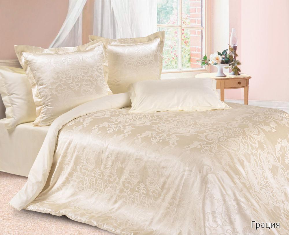 Постельное белье Грациня (сатин-жаккард) (Евро-1) постельное белье бирмингем сатин евро 1 page 4