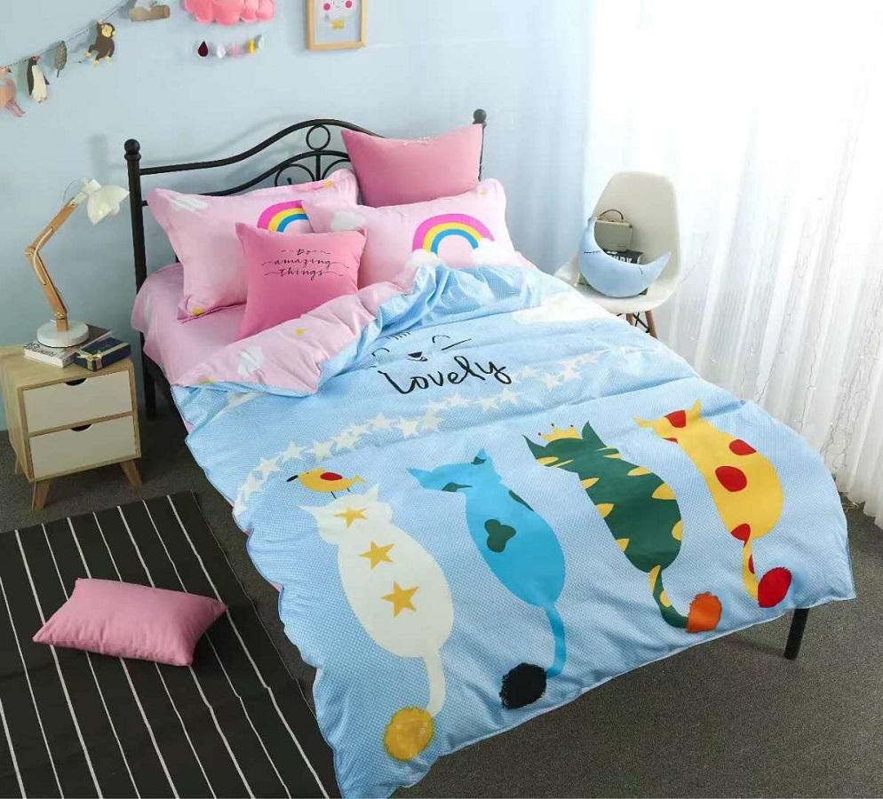 Постельное белье iv57530 (сатин) (1,5 спальный) босоножки для девочки geox цвет бежевый j62e2a000jsc5000 размер 29