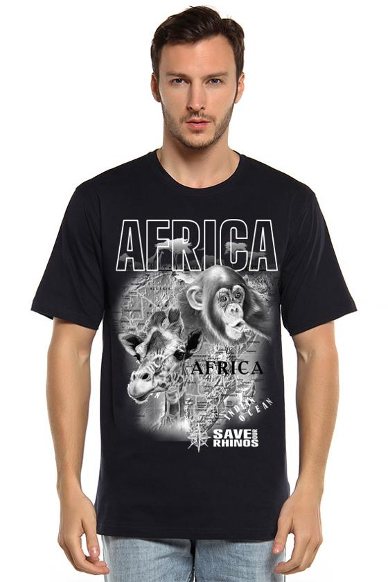 """Футболка мужская """"Африка"""""""