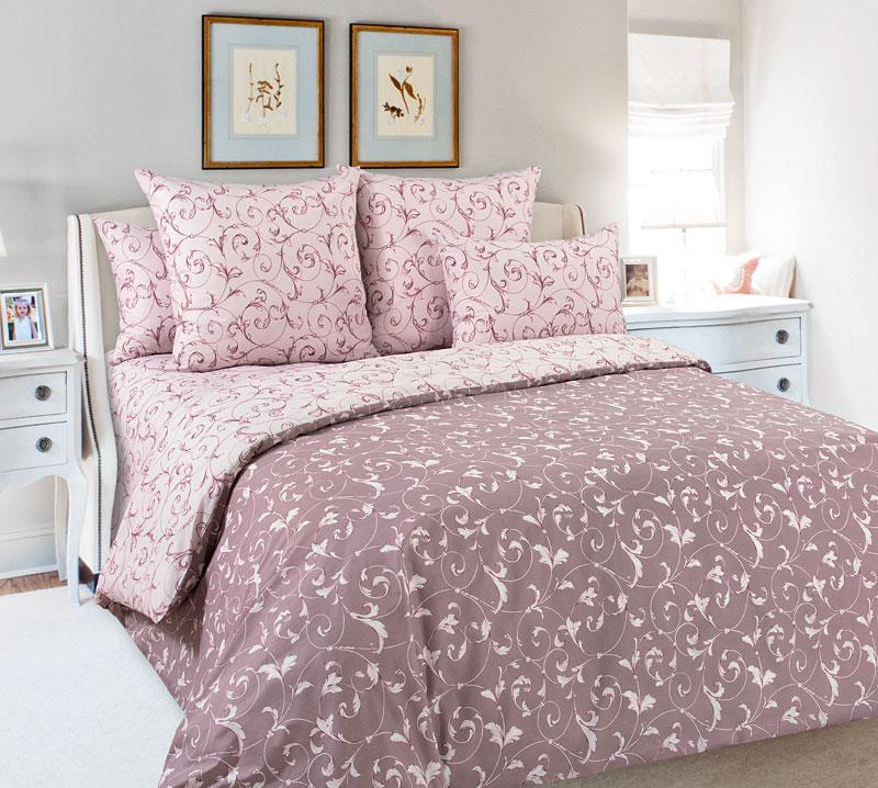 Постельное белье Габриэла (перкаль) (2 спальный с Евро простынёй) постельное белье альба перкаль 2 спальный