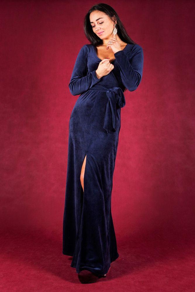 Купить Платье женское Фондис 46, Грандсток, Велюр, Круглогодичный
