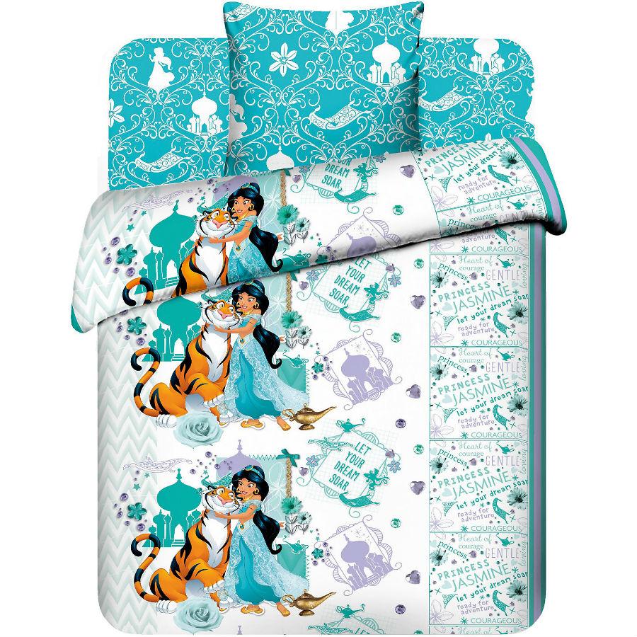 """Постельное белье """"Жасмин и Раджа"""" (бязь) 1,5 спальный"""