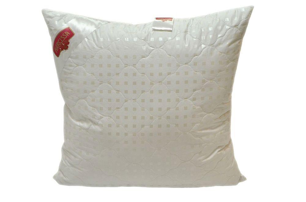 Подушка Нежность (лебяжий пух, тик) (50*70) подушка нежность лебяжий пух тик 50 70