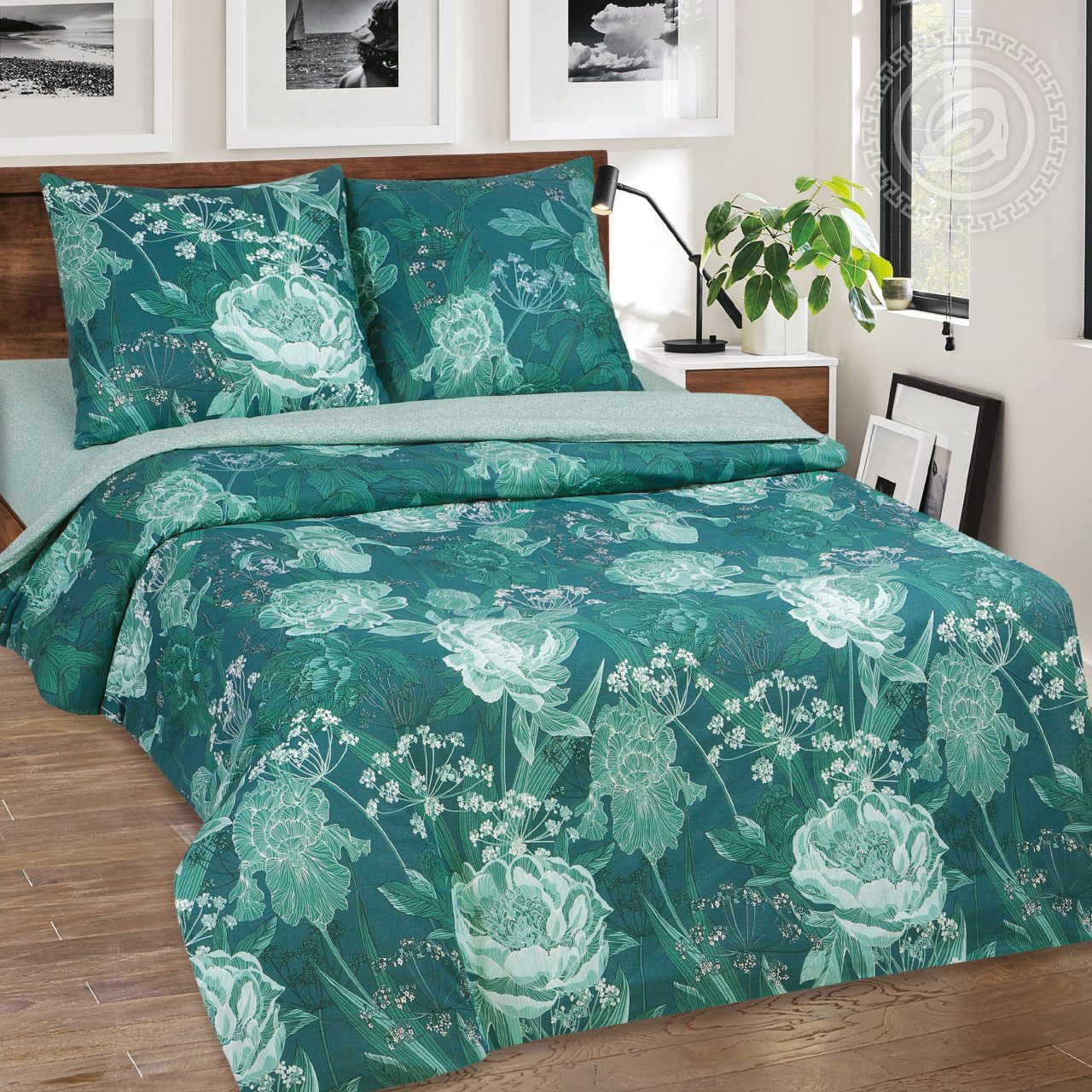 цена Постельное белье iv59284 (поплин) (1,5 спальный) онлайн в 2017 году