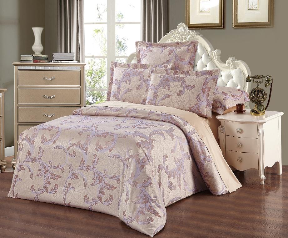Постельное белье Северная корона (сатин) (2 спальный с Евро простынёй)