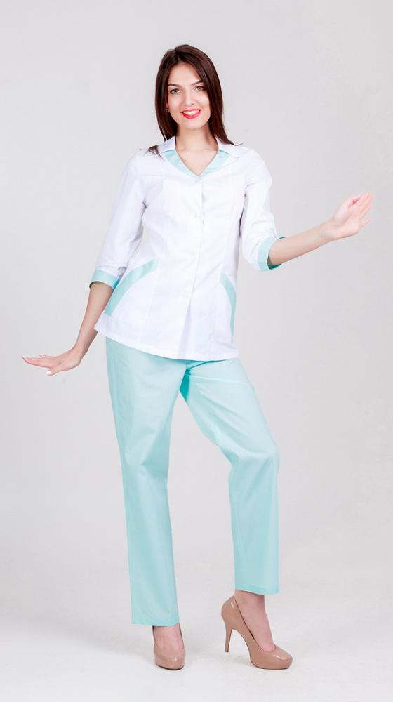 Костюм медицинский Кристина (52-54) костюм римского гражданина 52 54