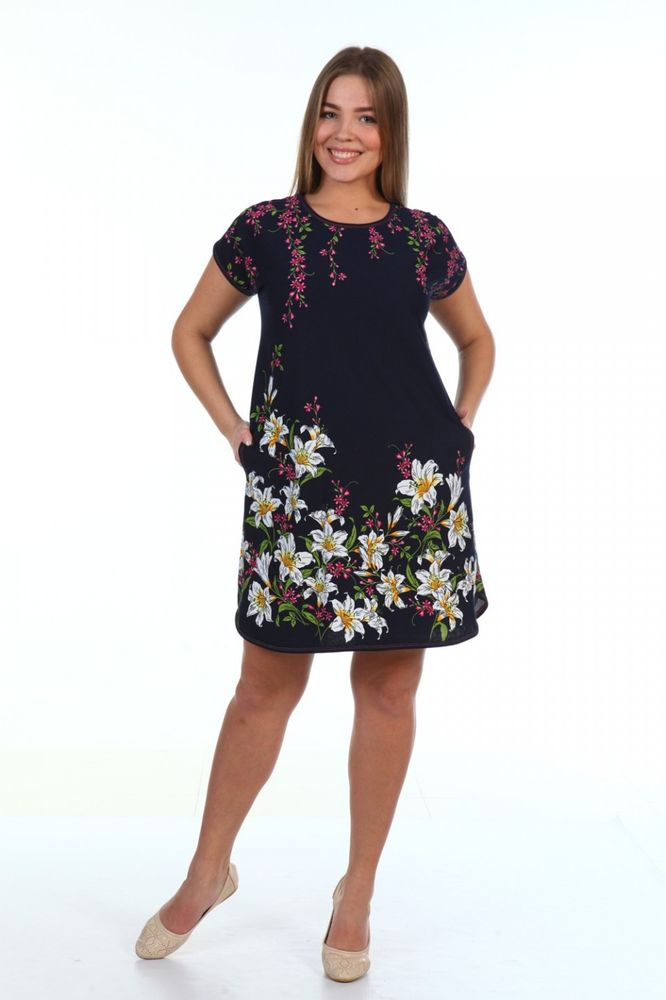 Туника женская #Камилла#, Размер: 50 - Платья и юбки - Туники