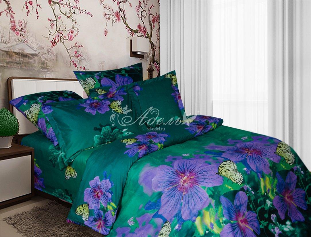 Постельное белье Фея (полисатин) (1,5 спальный) постельное белье cleo кпб полисатин 246 1 5 спальный