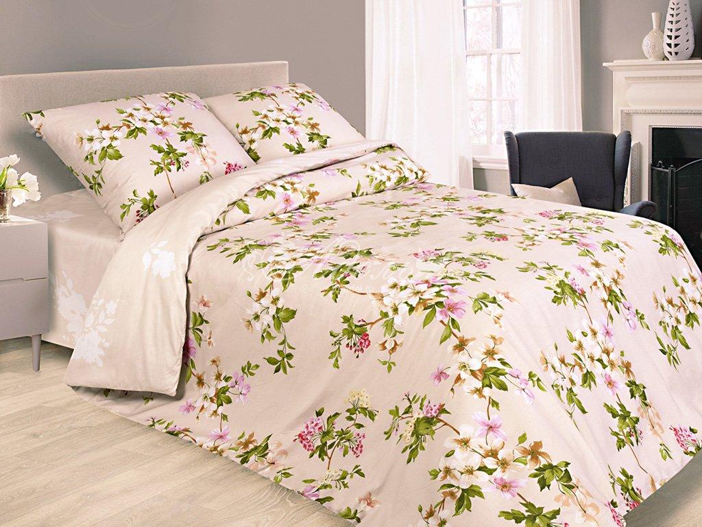 Постельное белье Лада (сатин) (1,5 спальный) постельное белье cleo кпб сатин набивной люкс дизайн 315 1 5 спальный