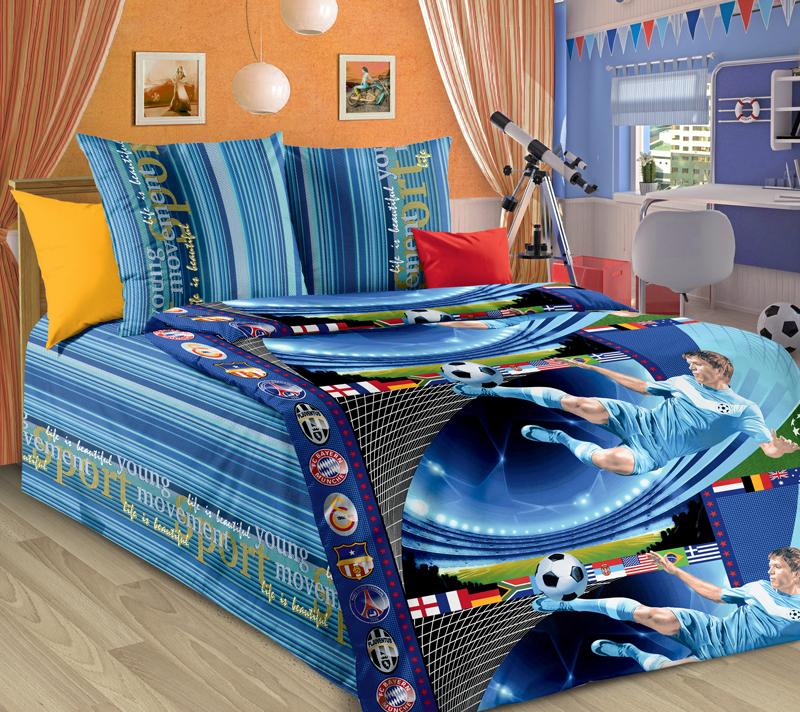 Постельное белье Пенальти (бязь) (1,5 спальный) постельное белье размеры