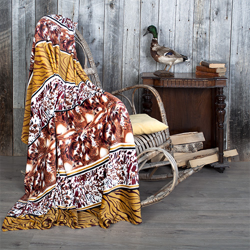 Плед Сафари (велсофт) (150х200) плед tamerlan плед payton 150х200 см
