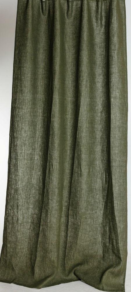 Штора для гостиной Квадро темно-зеленый (лен) (145х270) штора жаккард bordo 145х270 см p608 7215 1