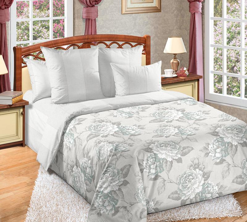 Постельное белье Мира (перкаль) (1,5 спальный) постельное белье унисон россини 15375 1 15376 1 комплект 2 спальный перкаль 450154