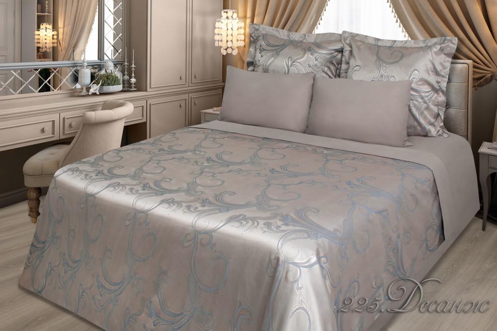 Фото - Постельное белье iv69922 (сатин-жаккард) (2 спальный с Евро простынёй) постельное белье iv69910 сатин жаккард 2 спальный с евро простынёй