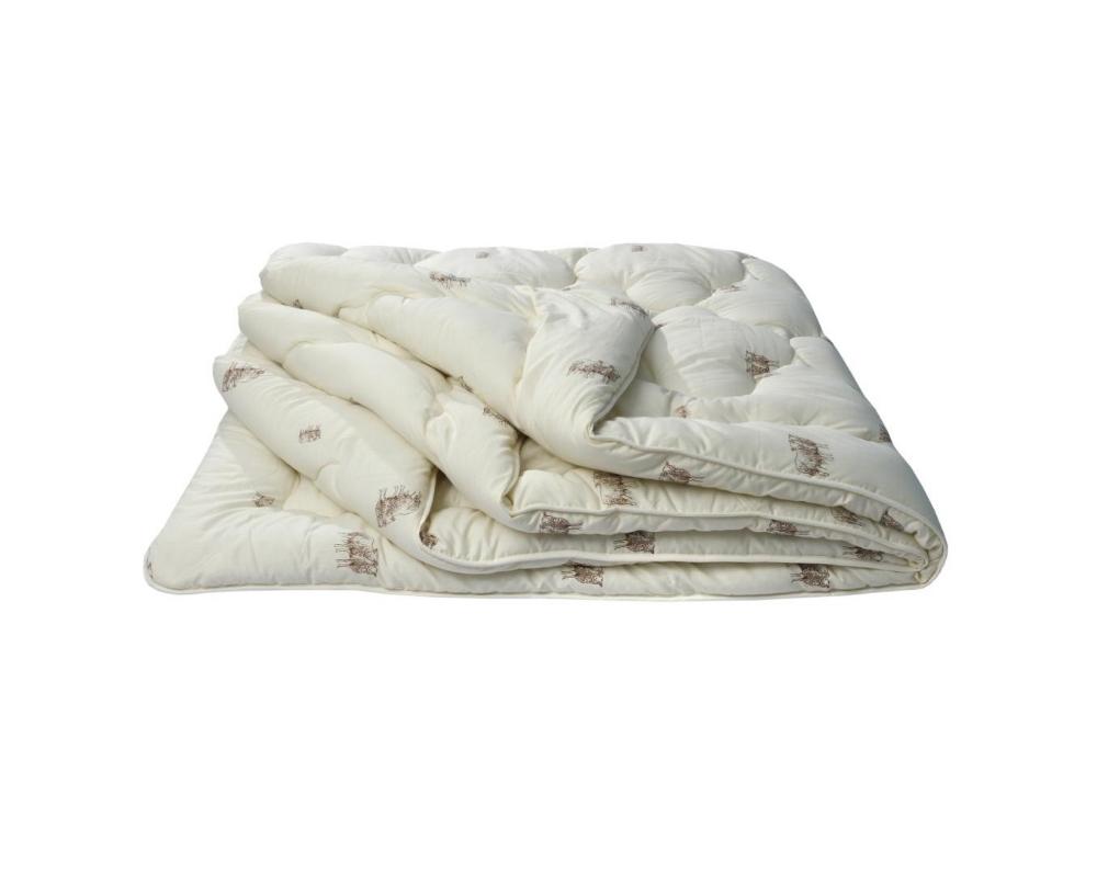 """Одеяло облегченное """"Овечья шерсть"""" 2 спальный (172*205)"""