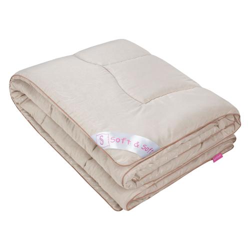 Одеяло зимнее Бакалар (овечья шерсть, микрофибра) (1,5 спальный (140*205)) одеяло ившвейстандарт овечья шерсть 140 х 205 см светло бежевый
