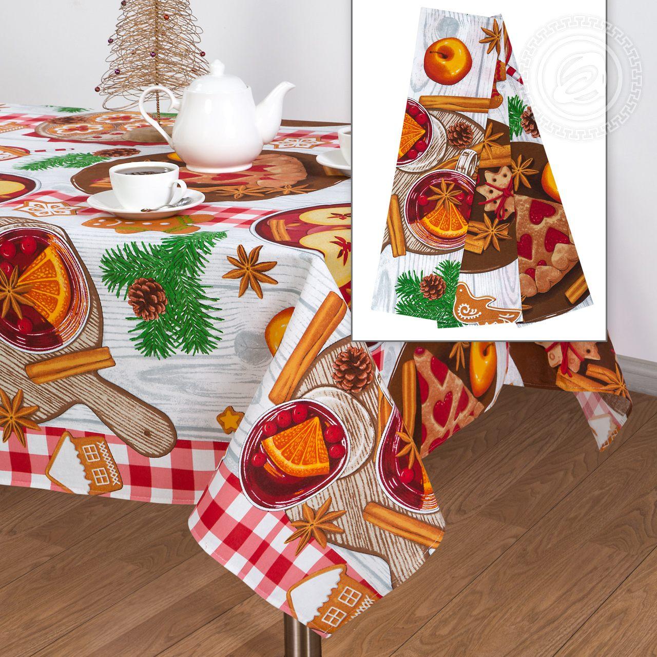 Набор столового белья Пряничный домик (150*180)
