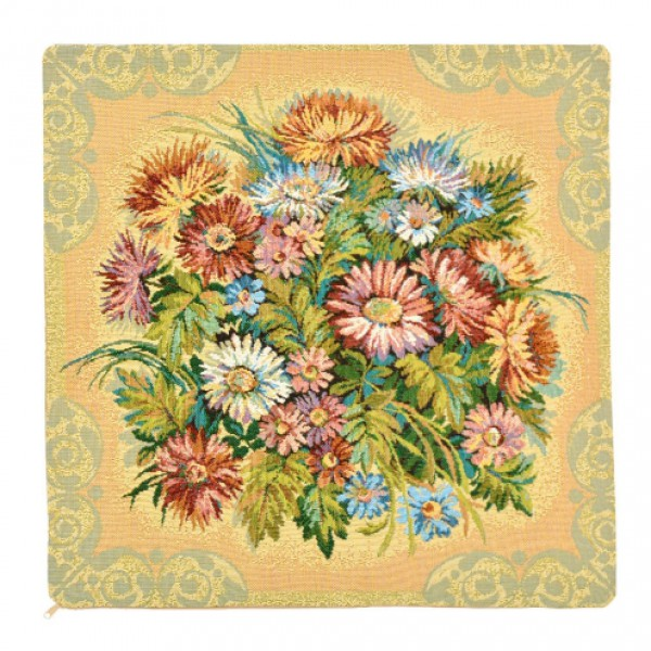 Наволочка декоративная Хризантемы (50*50)