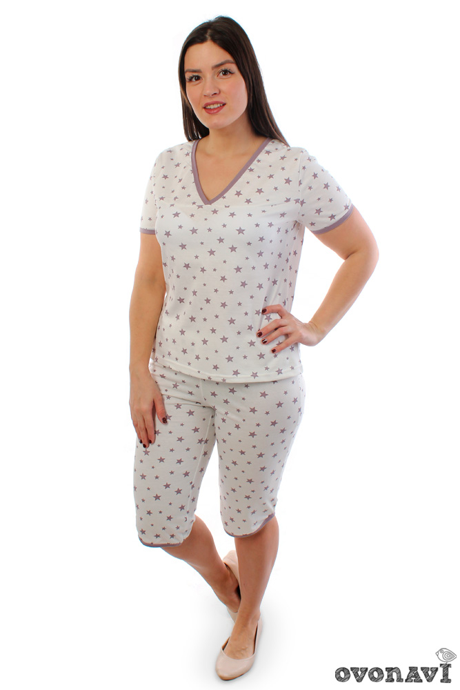 Пижама женская Ovonavi-1297 46