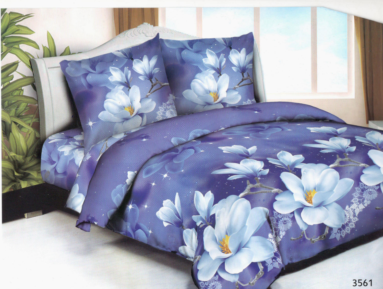 Постельное белье Мулан (полисатин) (1,5 спальный) постельное белье эго комплект 1 5 спальный полисатин