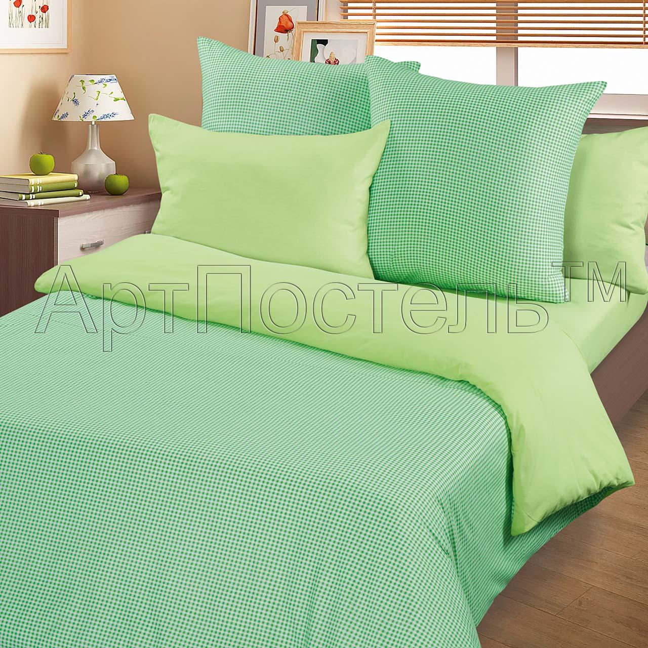 цена на Пододеяльник трикотажный на молнии iv36551 зеленый (1.5 спальный (145х215))