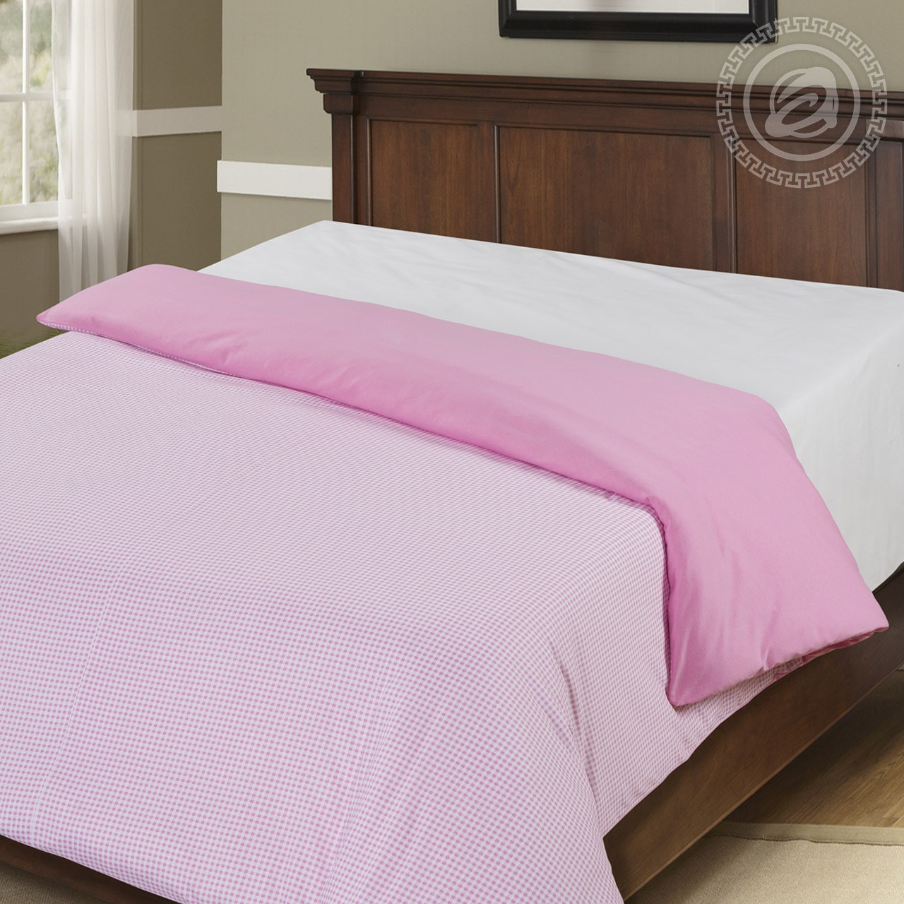 цена на Пододеяльник трикотажный на молнии iv36552 розовый (1.5 спальный (145х215))