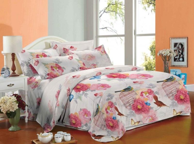 Фото - Постельное белье Стихия (сатин) (1,5 спальный) постельное белье этель кружева комплект 2 спальный поплин 2670978