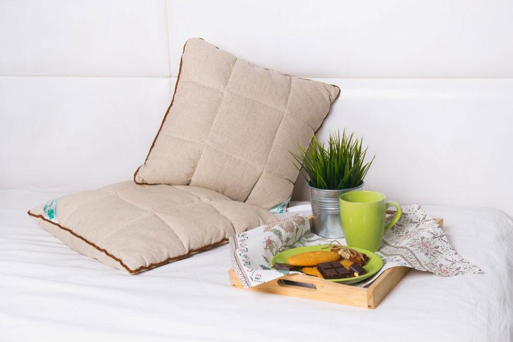 Подушка iv6878 (кедр/лебяжий пух) (40*60) подушка здоровый сон лебяжий пух 40 40