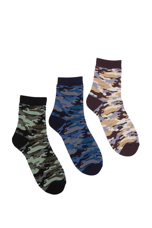 Носки мужские Камуфляж (упаковка 6 пар) носки мужские дмитрий упаковка 5 пар