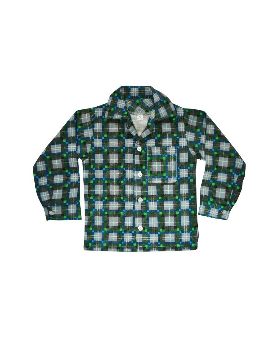 цена на Рубашка фланелевая на мальчика Клетка
