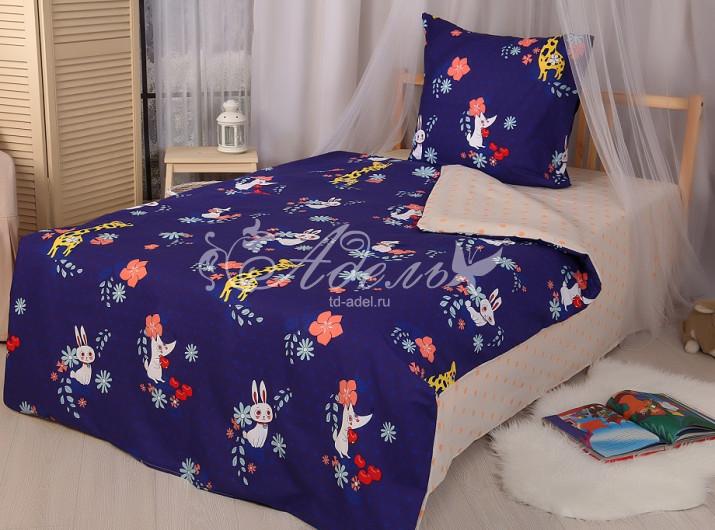 """Постельное белье """"Ночная сказка"""" (поплин) 1,5 спальный"""