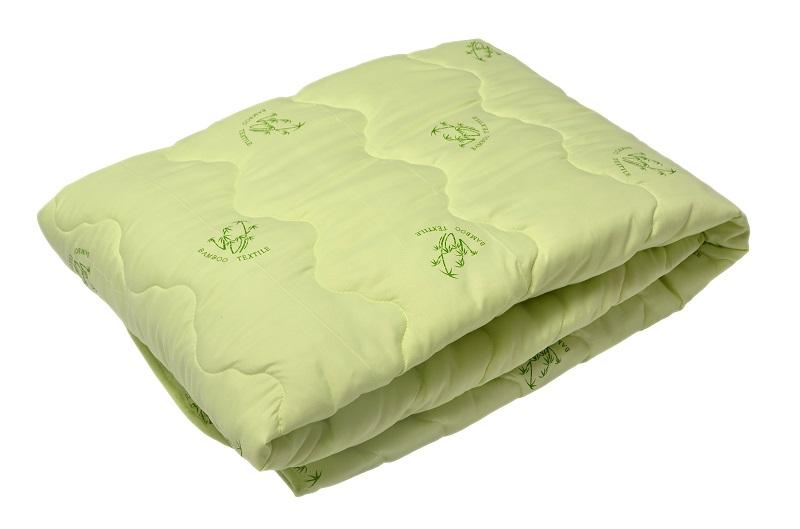 """Одеяло облегченное """"Нежность"""" (бамбук, тик) 1,5 спальный (140*205) всего за 1589 рублей!"""