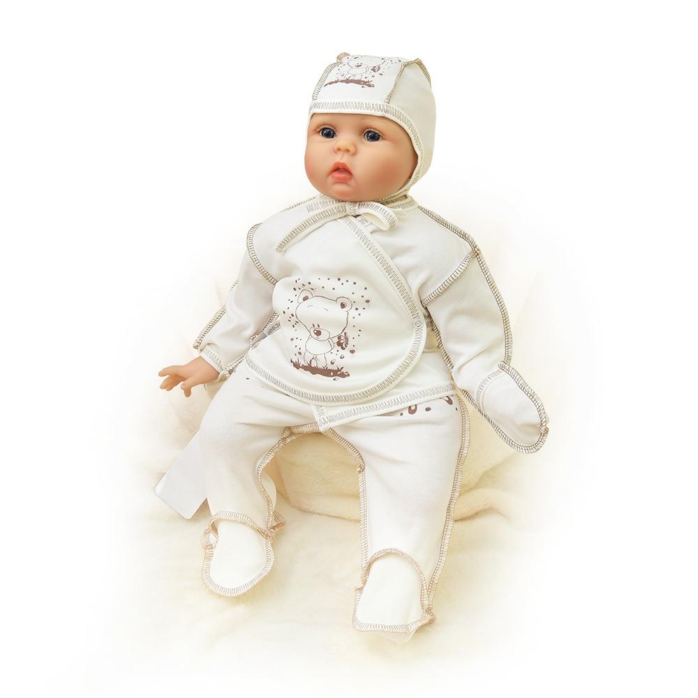 Распашонка Мишутка ldcx детские игрушки 1322