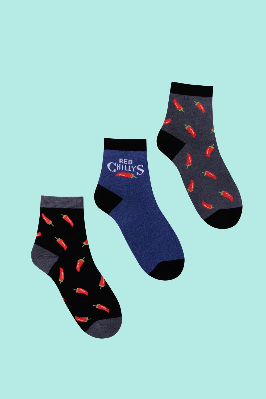 Носки детские Перец (упаковка 3 пары) (22-24) носки детские гранд цвет серый 2 пары tcl8 размер 22 24