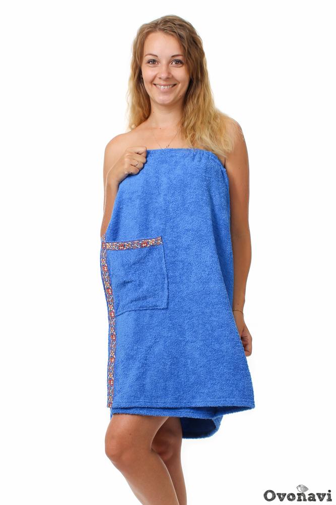 Полотенце - накидка махровая (женская) Универсальный от Grandstock