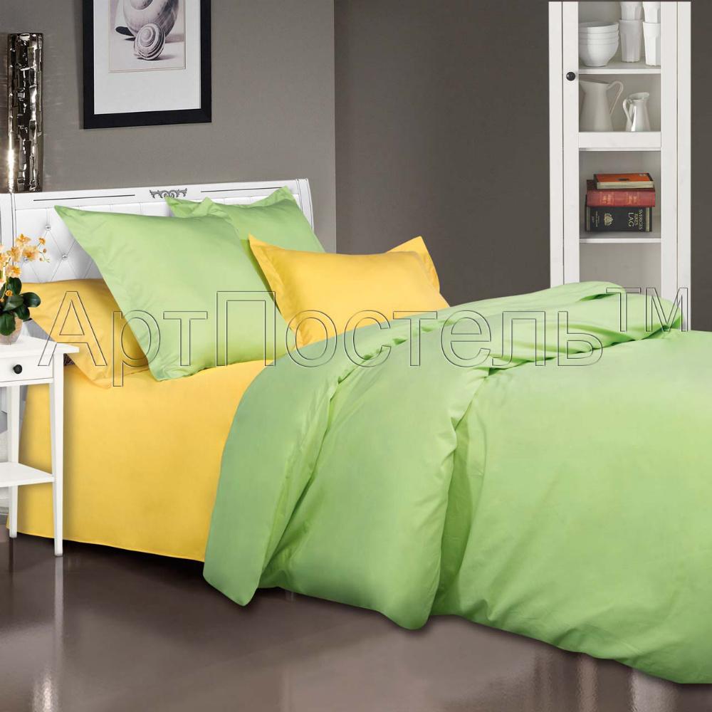 Постельное белье Лайм (сатин) (1,5 спальный) постельное белье игрушки розовый сатин 1 5 спальный